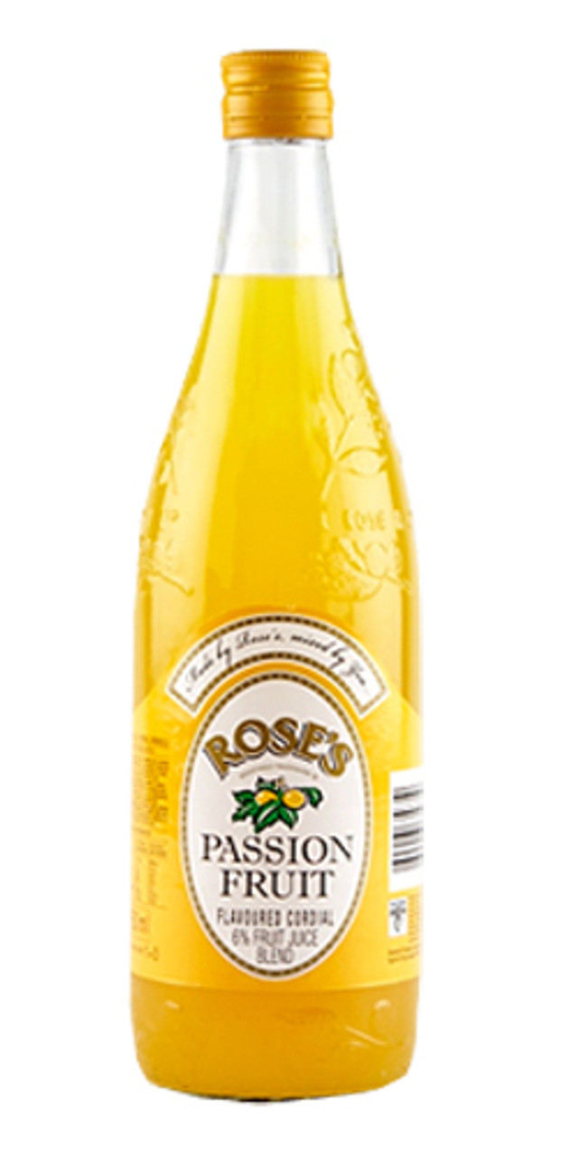 Roses Passion Fruit Cordial 750ml - Caletoni - International Grocer