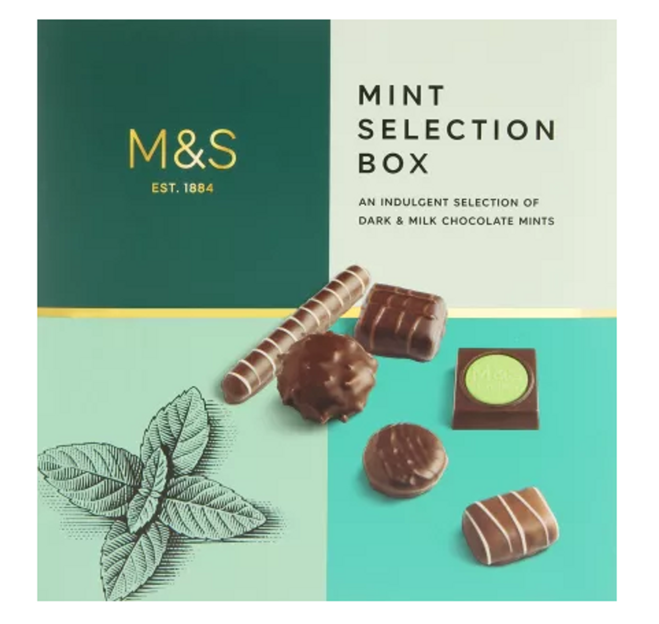 Marks And Spencer Mint Selection Box 200g
