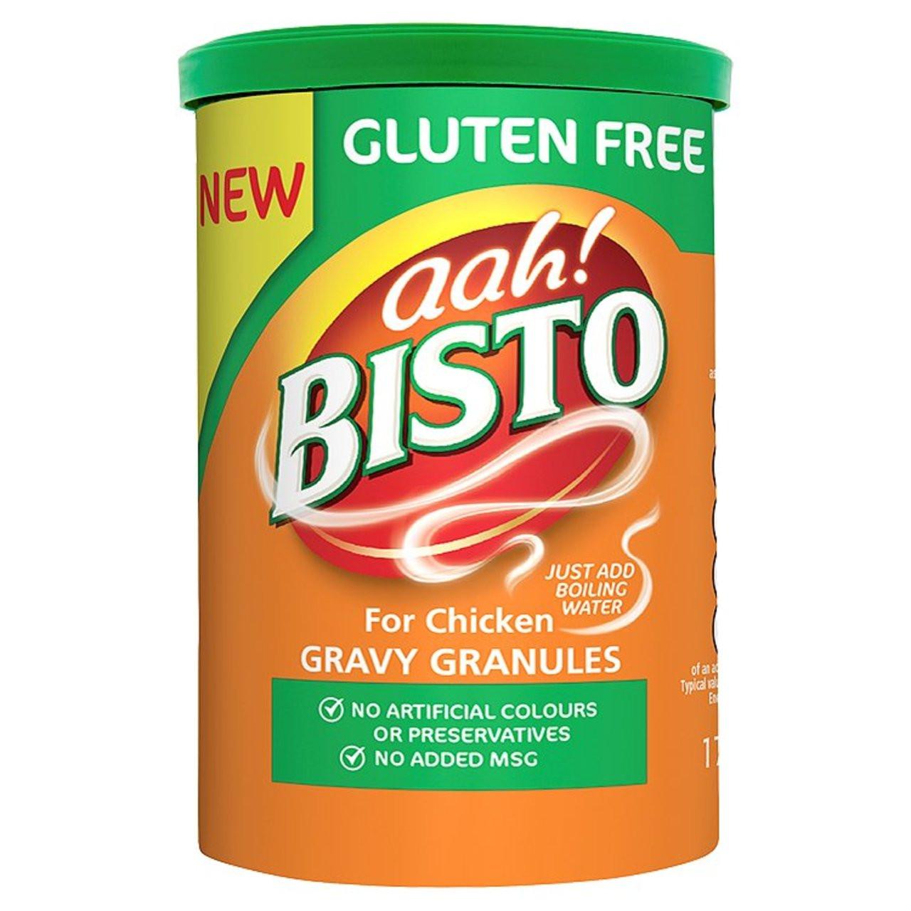 are bisto gravy granules gluten free