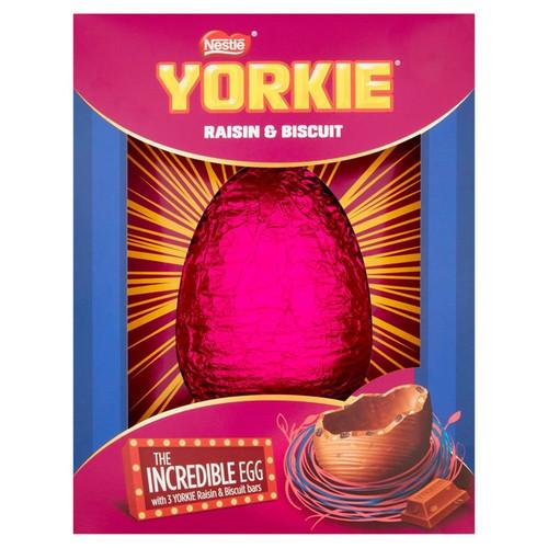 Nestle Yorkie Incredible Easter Egg 522g