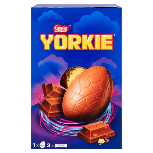 Nestle Yorkie Collection Giant Easter Egg 336g