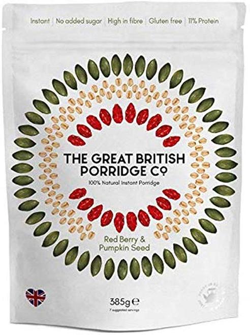 The Great British Porridge Co. Red Berry & Pumpkin Seed 385g