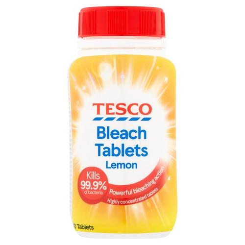 Tesco Lemon Bleach Tablets x40 160g