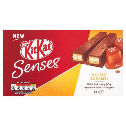 Kit Kat Senses 2 Finger Salted Caramel Chocolate Biscuit 5 pack 114g