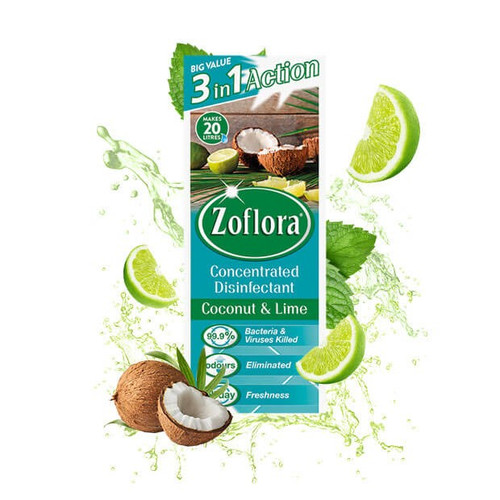 Zoflora Coconut & Lime 500ml