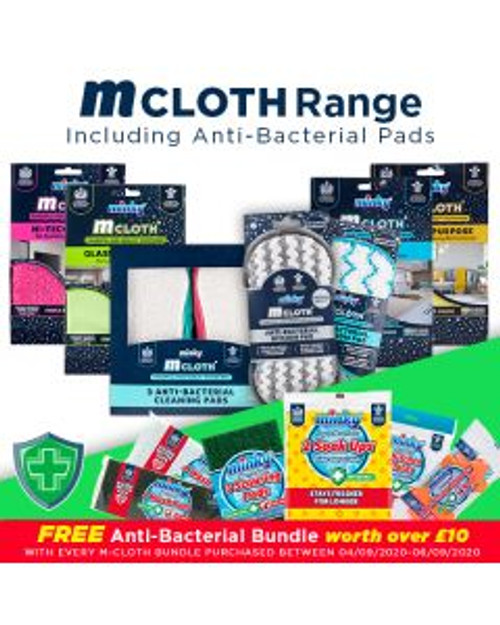 Minky M Cloth Range Bundle