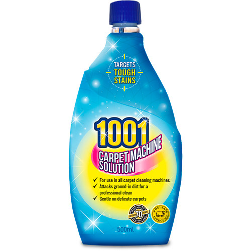 1001 3 in 1 Carpet Machine Shampoo 500ml