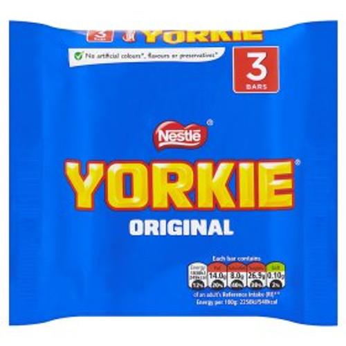 Nestle Yorkie 3x46g Chocolate Bars