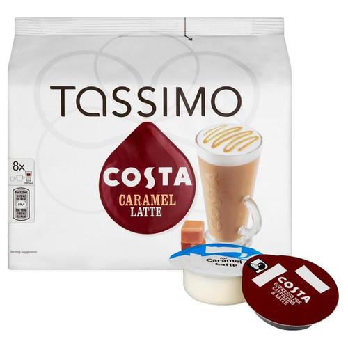 Tassimo Costa Caramel Latte Discs 271.2g
