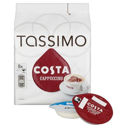Tassimo Costa Cappuccino Discs 280g