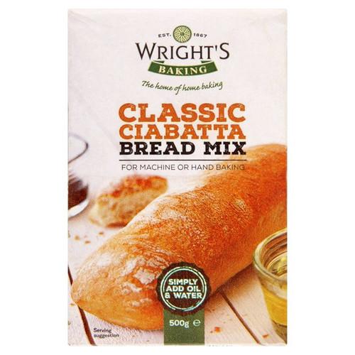 Wrights Ciabatta Bread Mix 500g