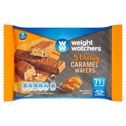 Weight Watchers Caramel Wafers 4's