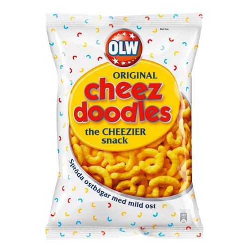 Olw Cheese Doodles 160g