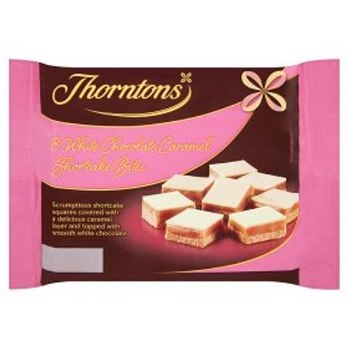 Thorntons White Chocolate Caramel Shortcake Bites 8pk