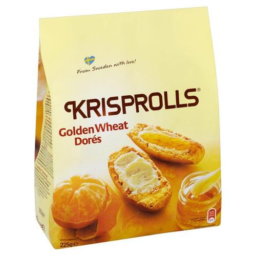 Pagen Golden Krisprolls 225g