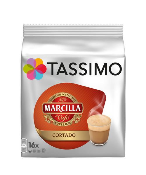 Tassimo Marcilla Cortado  16 Discs 184g