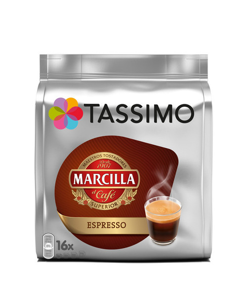 Tassimo Marcilla Espresso  16 Discs 118.4g