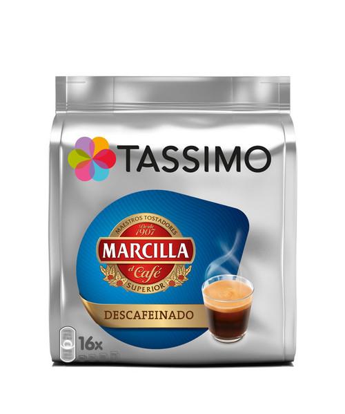 Tassimo Marcilla Descafeinado 16 Discs 118g
