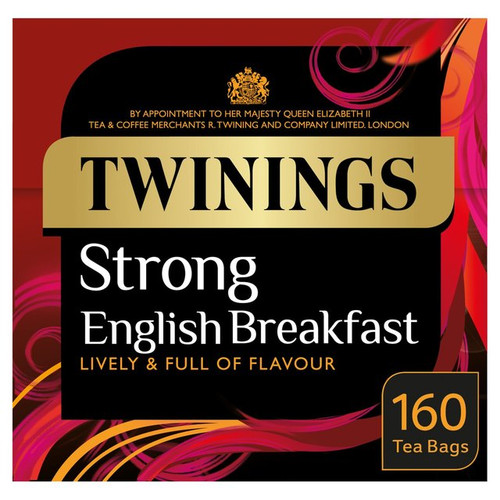 Twinings Strong English Breakfast 160 per pack