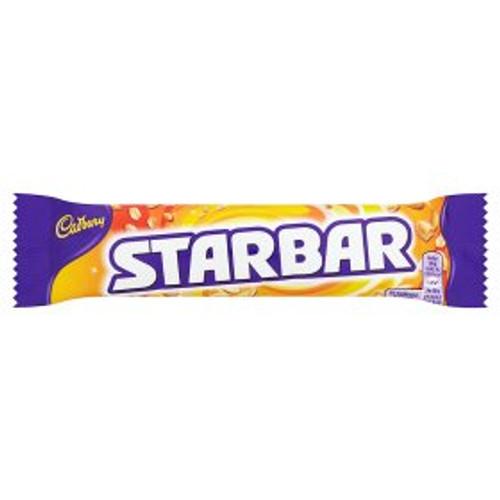 Cadbury Starbar Chocolate Bar 49g (Pack of 4)