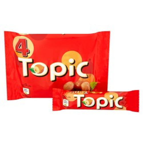Topic Chocolate Bar 4 Pack 4x47g