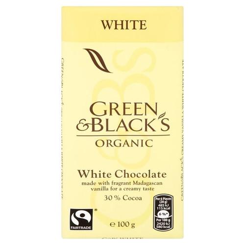 Green & Black's White 100g
