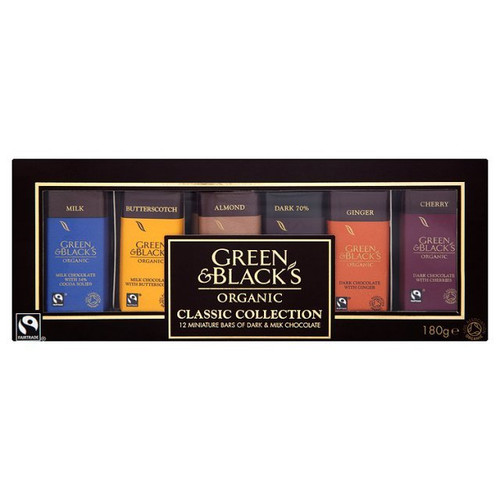Green & Black's Classic Collection 12 x 15g