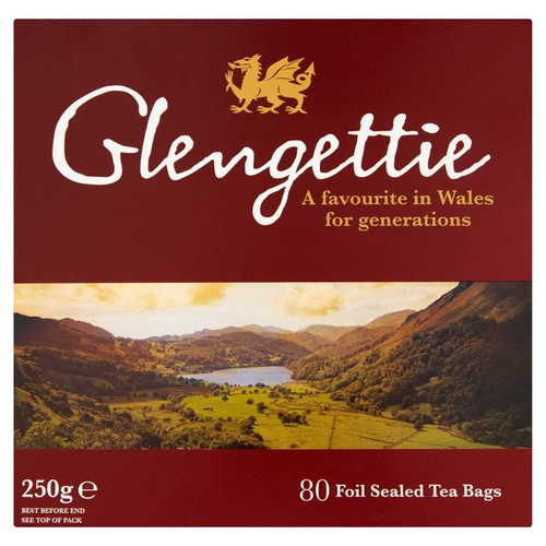 Glengettie Tea Bags 80 per pack