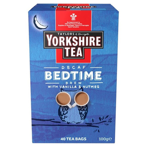 Taylors of Harrogate Yorkshire Tea Bedtime Brew Tea Bags 100g