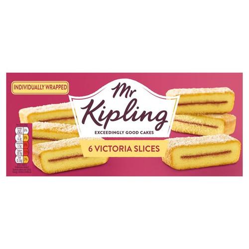 Mr Kipling 6 Victoria Slices