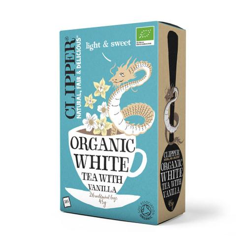Clipper Organic White Tea with Vanilla 26 bags