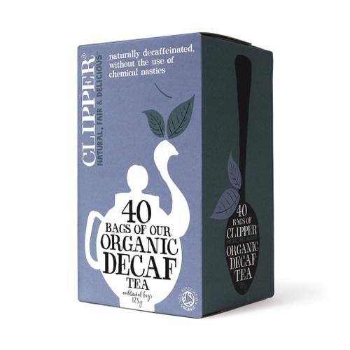 Clipper Organic Everyday Decaf Tea 40 bags 125g