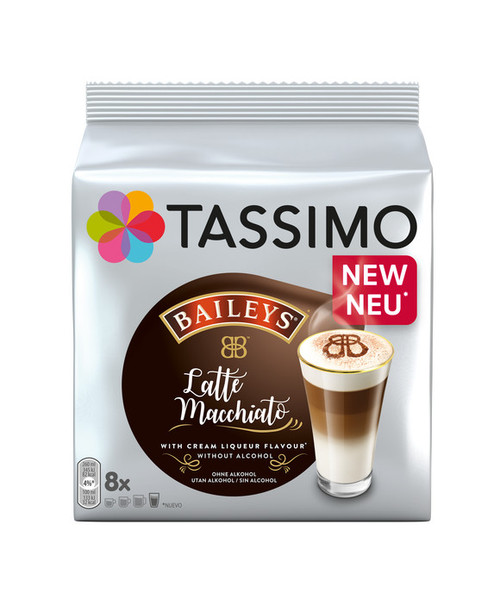 Tassimo Baileys Latte Macchiato 8 Drinks