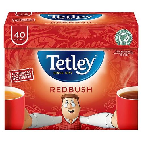 Tetley Redbush Tea Bags 40 per pack