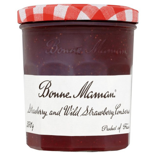 Bonne Maman Strawberry & Wild Strawberry Conserve 370g
