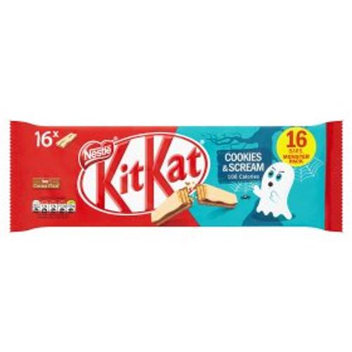 Nestle KitKat Fairtrade Cookies and Cream 16x20g