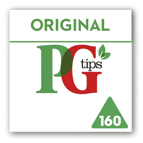 PG tips 160s Pyramid Teabags 160 per pack
