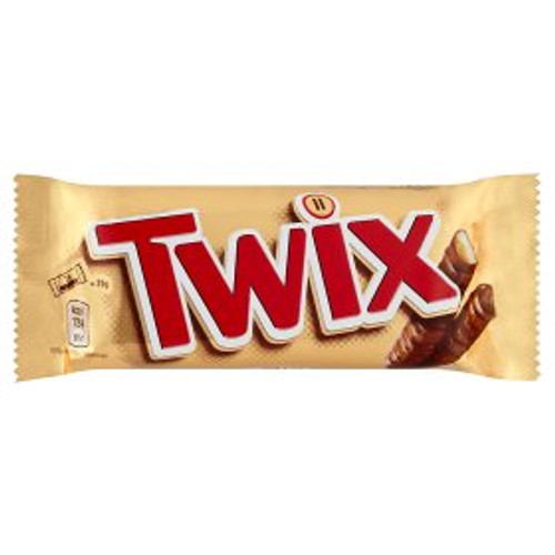 Twix Standard Twin Bars 50g