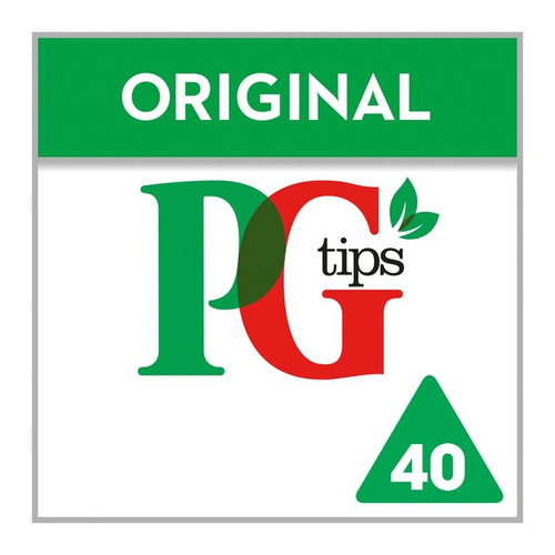 PG Tips Pyramid Teabags 40 per pack