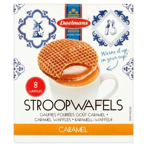 Daelmans 8 Caramel Stroopwafels Box 310g