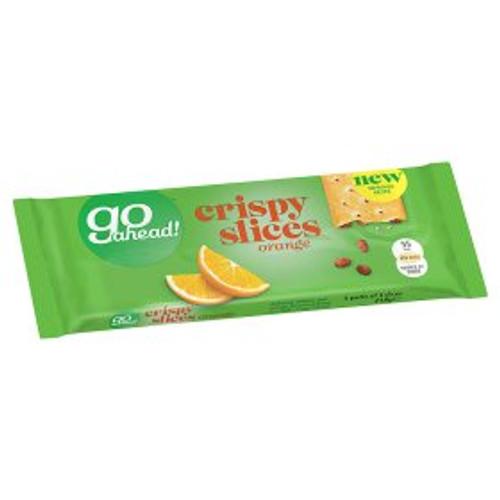 Go Ahead! Crispy Orange Slices 5 Pack 5x43.6