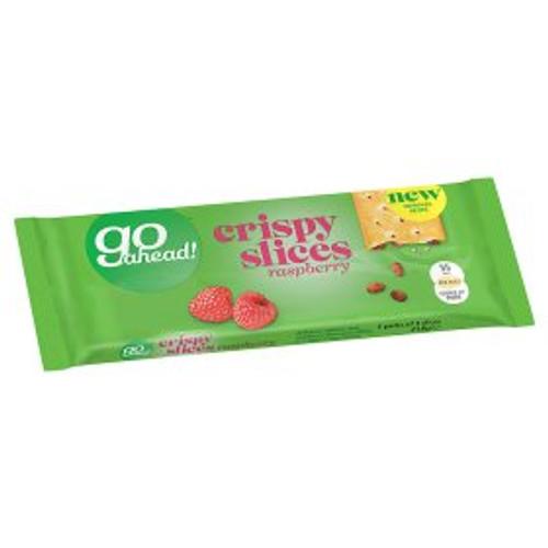 Go Ahead! Crispy Raspberry Slices 5x43.6