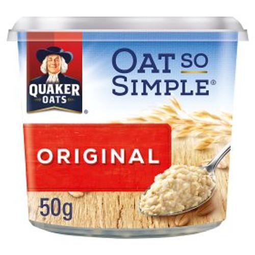 Quaker Oat So Simple Original Porridge Pot 50g