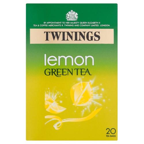 Twinings Lemon Green Tea 20 per pack