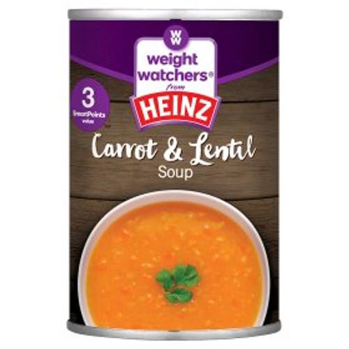 Weight Watchers from Heinz Carrot & Lentil Soup 295g