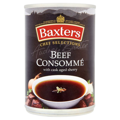 Baxters Luxury Beef Consomme Soup 400g