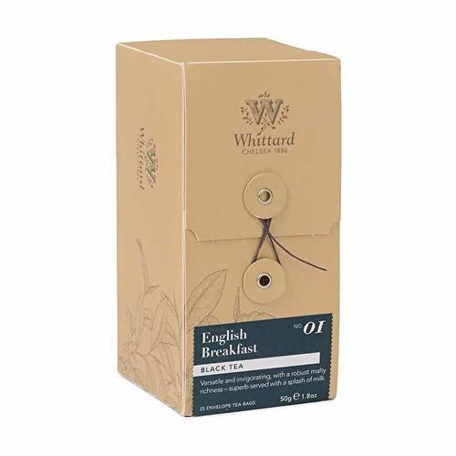 Whittards English Breakfast Tea 25 Bags
