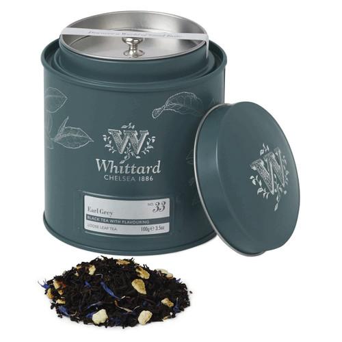 Whittards Earl Grey Loose Tea Caddy, 100g