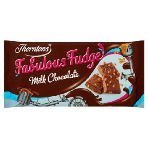 Thorntons Fudge Chocolate Bar 100g