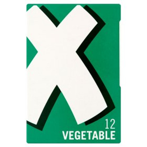 Oxo Vegetable Stock Cubes 12x6g